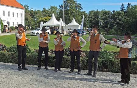Hornmusik på Kvarnbygården